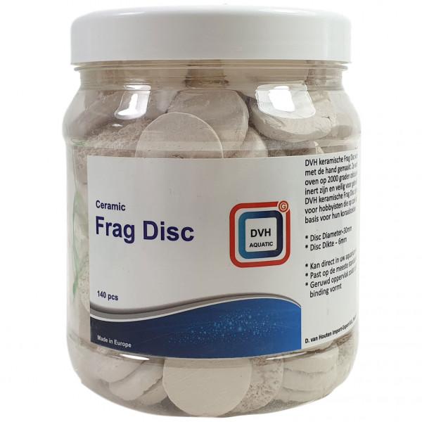 DVH Aquatic Ceramic Frag Discs   140 St. Ablegersteine für Korallenableger