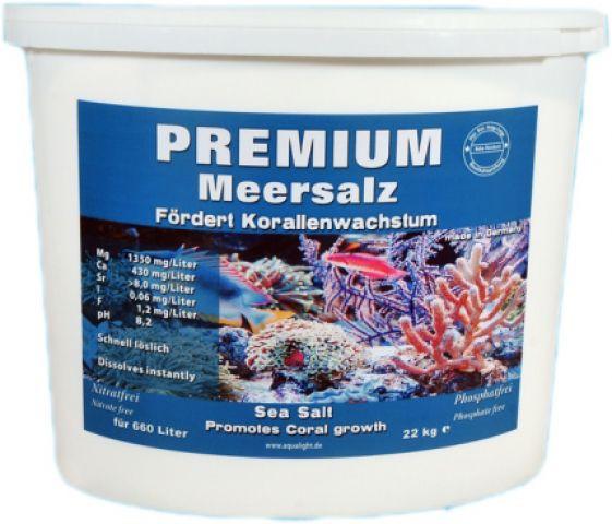 Aqua-Light Premium Meersalz 22 kg Eimer