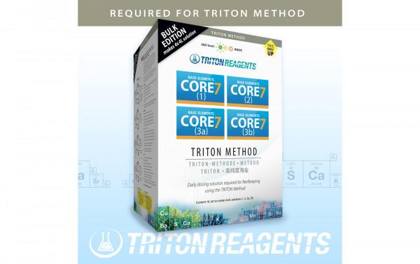 Triton SET Core7 Base Elements Bulk Edition 4x4 Liter Kit