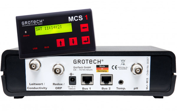 GroTech MCS1-Basismodul + Zusatzmodule MU1-MCS
