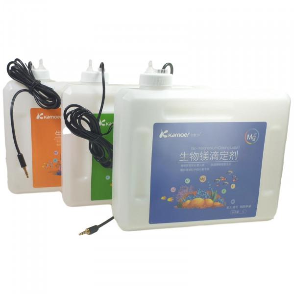 KAMOER 3 x 2 L Dosierbehälter mit Flüssigkeitssensor