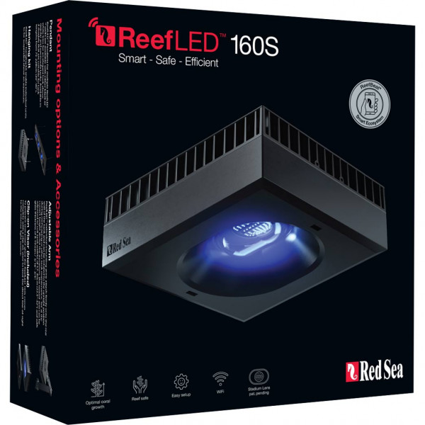 Red Sea ReefLED 160s | Ideal für größere, breitere und tiefere Meerwasseraquarien