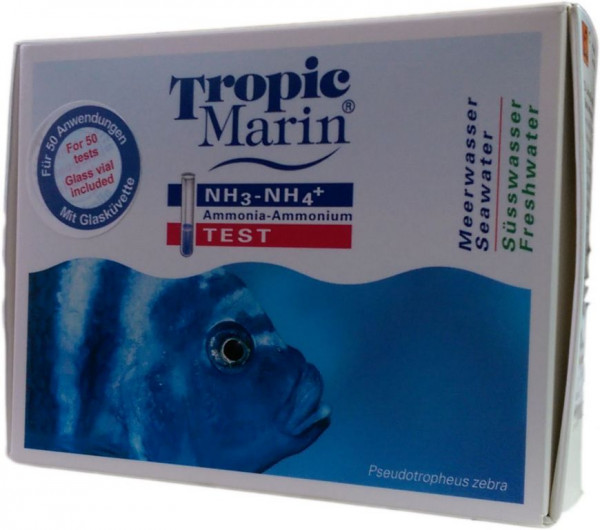 Tropic Marin Wassertest / Test Amoniak - Amonium