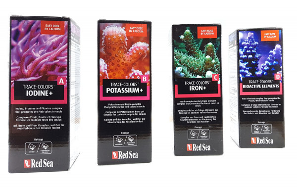 Red Sea Trace-Colors A, B, C, D (4x500 ml)