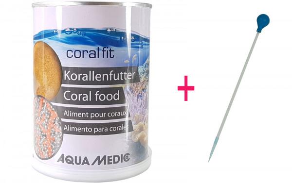 Aqua Medic Coral Fit Korallenfutter 210 g + Pipette 35