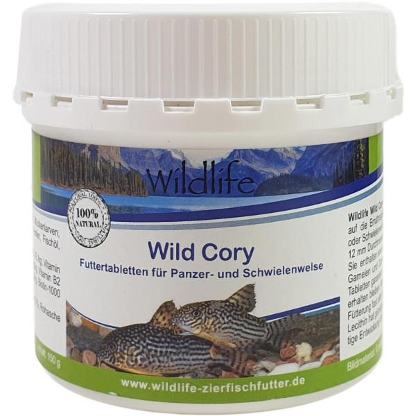 Wildlife Wild Cory 150 g Futtertabletten für Panzer- & Schwielenwelse