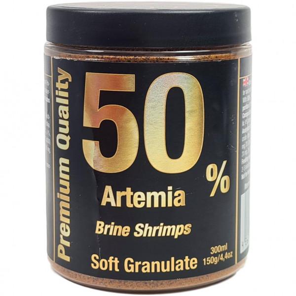 50% Artemia Soft Granulat 150 g / 300 ml 1 mm Körnung