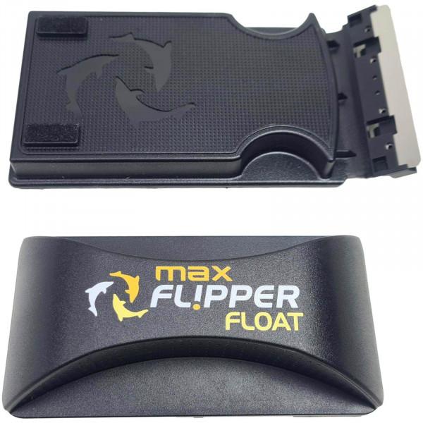 Flipper Max Float Magnetscheibenreiniger | bis 24 mm | schwimmend | verbesserte Klingen