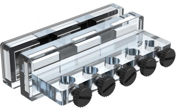 GHL Halter für 5 Schläuche mit Magnetbefestigung - PL-1609