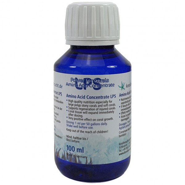 Korallenzucht Aminoacid Concentrate LPS