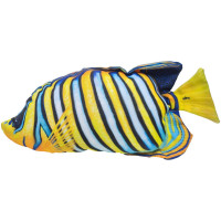 GABY Pfauenkaiserfisch Kissen ca. 32