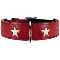 Hunter Halsband Magic Star rot/schwarz