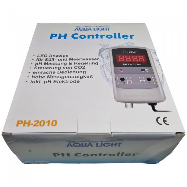 Aqua-Light PH Controller PH-2010 für Messung & Regelung LED Anzeige