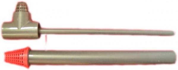 PVC-Ablauf oben + unten Ø50mm
