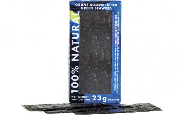 Fauna Marin 100% Natural Grüne Algenblätter 23 g