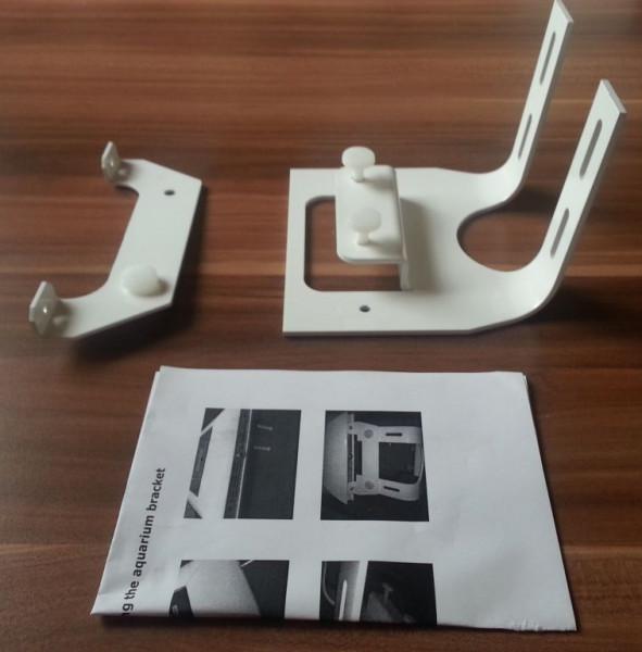 Halterung silber für Giesemann Teszla LED Modul