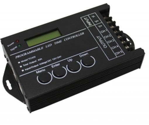 Led Time Control (5-Kanal-DimmController) 12-24Volt