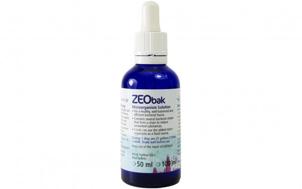 Korallenzucht Bakterienstämme Zeobak