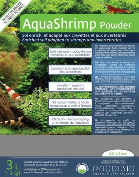 Prodibio AquaShrimp Powder 3 kg