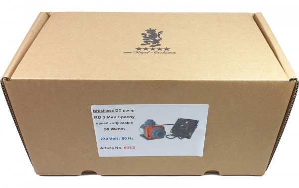 Royal-Exclusiv Red Dragon®3 Mini Speedy Pumpe 50 Watt / 5,0m³