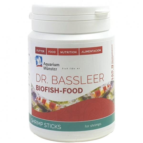 Dr. Bassleer Biofish Food Shrimp Stick 150 g | Alleinfutter für Ziergarnelen