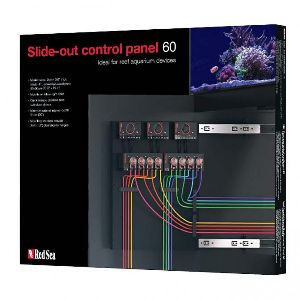 Red Sea Slide-Out Control Panel