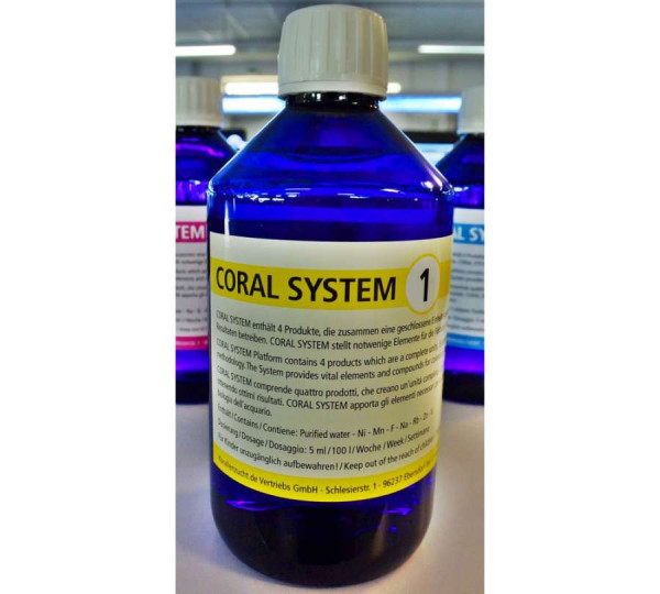 Korallenzucht Coral System 1-4