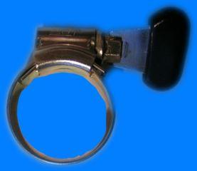 Schlauchschelle mit Flügelrad 17-25 mm