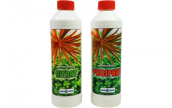 Aqua Rebell Makro Basic Nitrat + Makro Basic Phosphat als Set