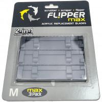 ABS Ersatzklingen Flipper Max für Acrylglas-Aquarien