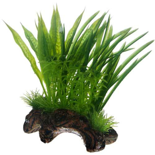 Hobby Flora Root 1 Größe S 17 cm Aquarium Kunstpflanze