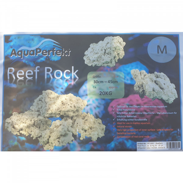 Aqua-Perfekt Reef Rock M 20 kg 30 - 45 cm