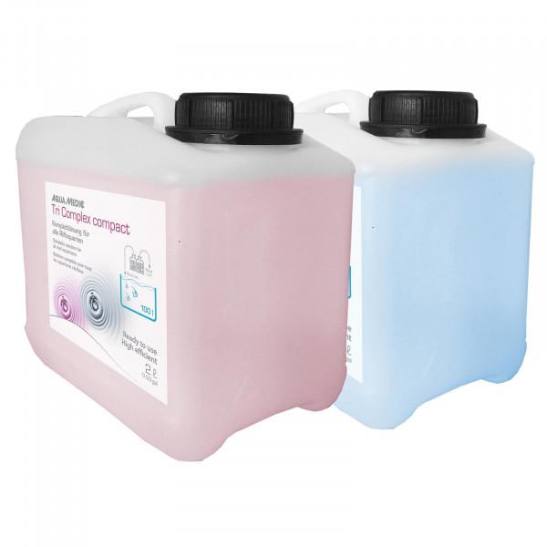 Aqua-Medic Tri Complex compact 2x5 L | Komplettlösung für alle Riffaquarien