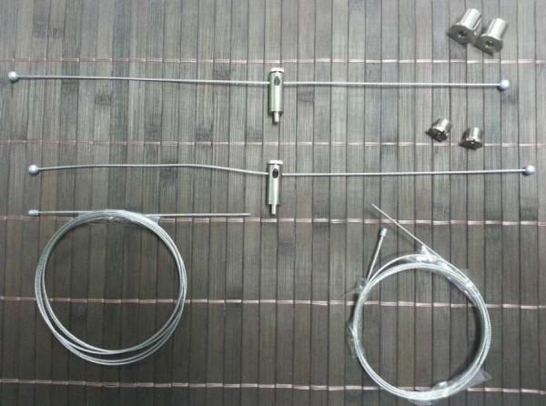 Stahlseilaufhängung für ATI T5 Sunpower Set