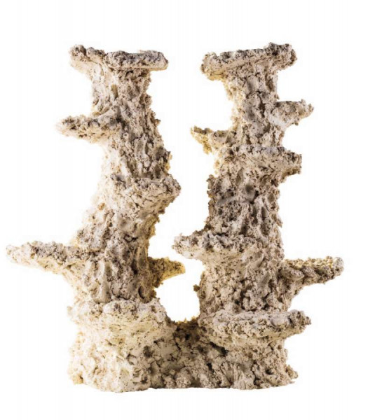 ARKA Riffkeramik Säule (2 Äste)