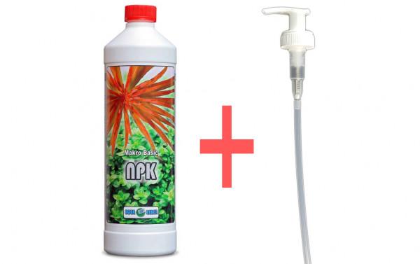 Aqua Rebell Makro Basic NPK 500 ml + Dosierpumpe