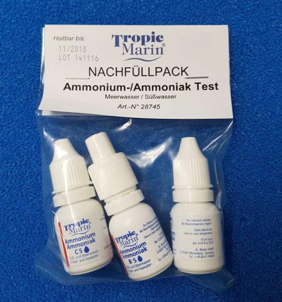 Tropic Marin Amonium-Test Nachfüllpackung