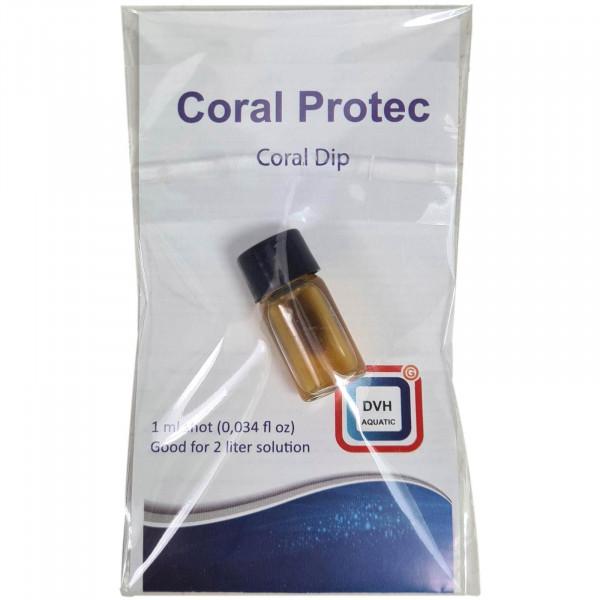 DVH Coral Protec Coral Dip 1 ml Shot | gegen Parasiten, RTN & STN