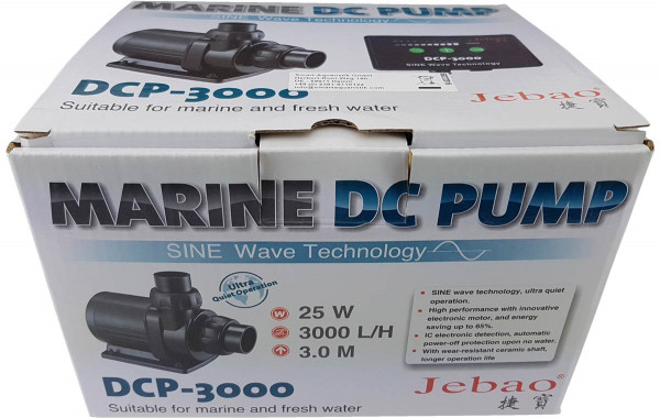 Jebao Brushless DC Pumpe DCP-3000