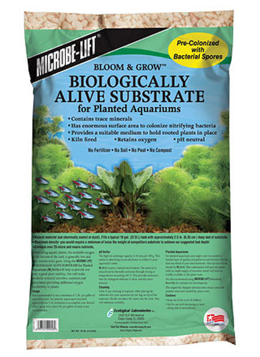 Microbe Lift BLOOM & GROW Biologically Alive Substrate
