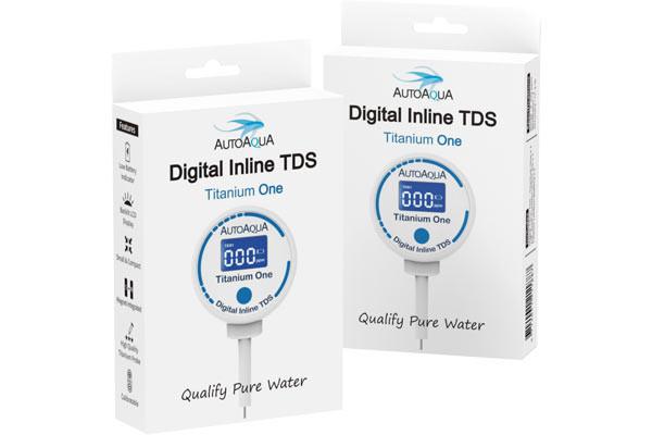 AutoAqua Digital Inline TDS - Titanium One