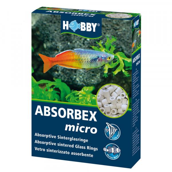 Hobby Absorbex micro 700 g absorptive Sinterglasringe