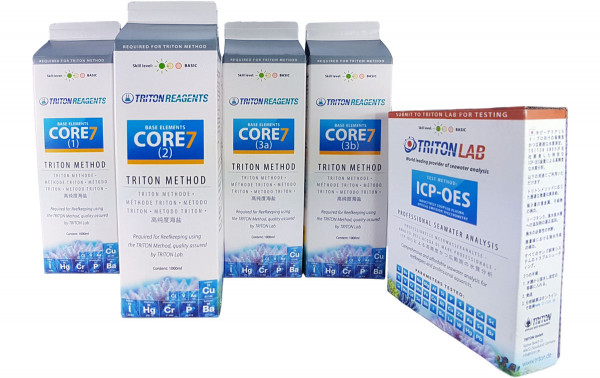 TRITON Set CORE 7 Base Elements 4x1 L + ICP-OES Test