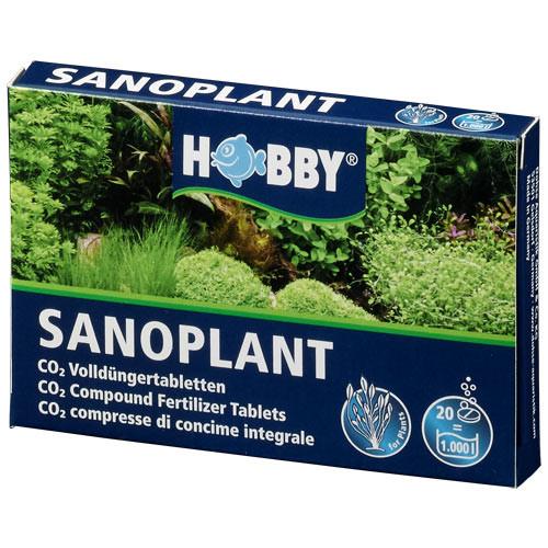 Hobby Sanoplant 20 Stück Volldüngertabletten mit CO2