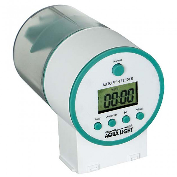 Aqua-Light Futterautomat easyFuttermat mit LCD Display und 2 Futterbehältern