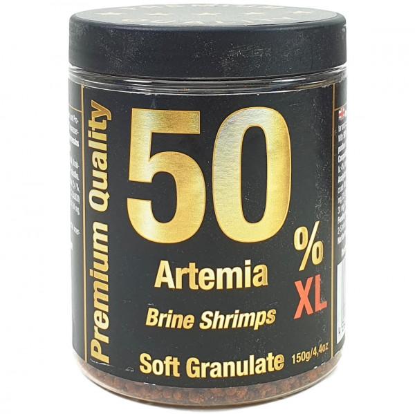 50% Artemia Soft Granulat 150 g XL Fischfutter Pellets