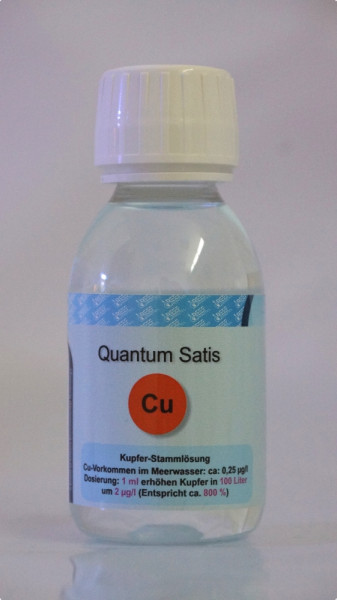 Reef Analytics Quantum Satis Kupfer
