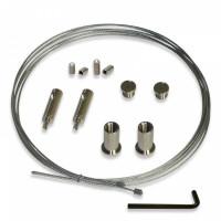 Stahlseil-Aufhängung Set für GHL Mitras Lightbar, LX6 & LX7 LED Leuchten