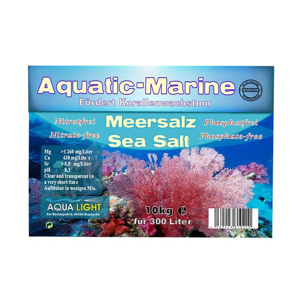 Aqua-Light Aquatic Nature Meersalz 10 kg Karton
