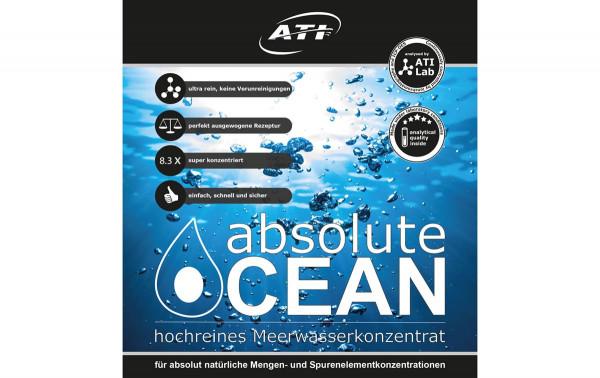 ATI absolute Ocean 2 x 2,04 L Konzentrat für 34 L Meerwasser